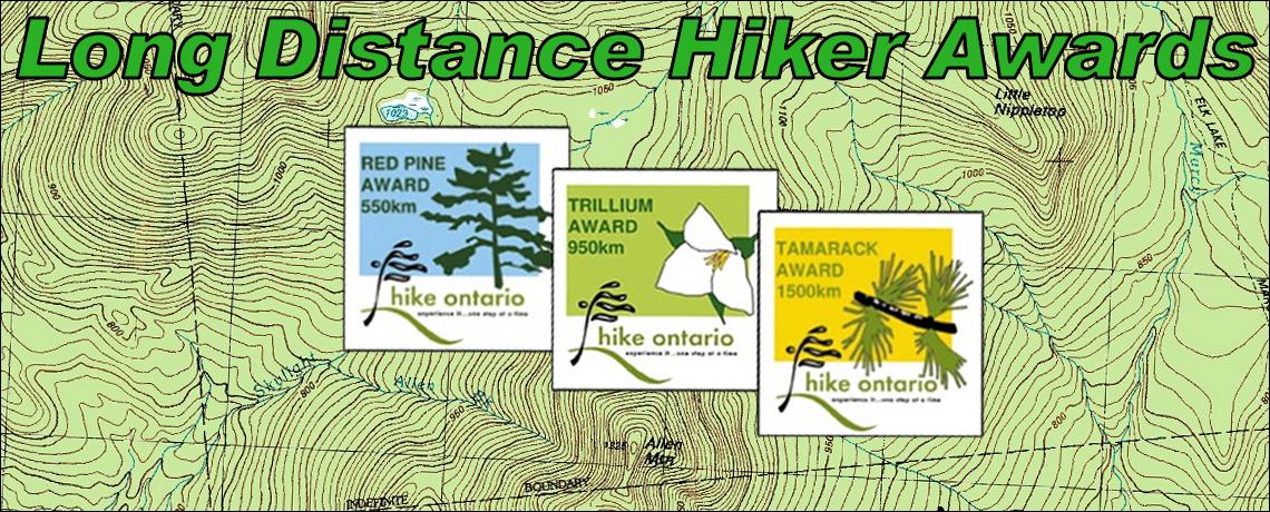 Long Distance Hiker Awards