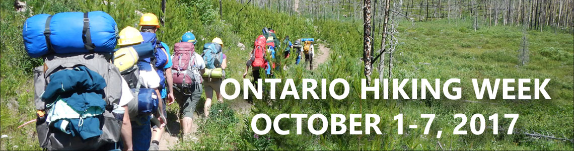 Ontario Hiking Week