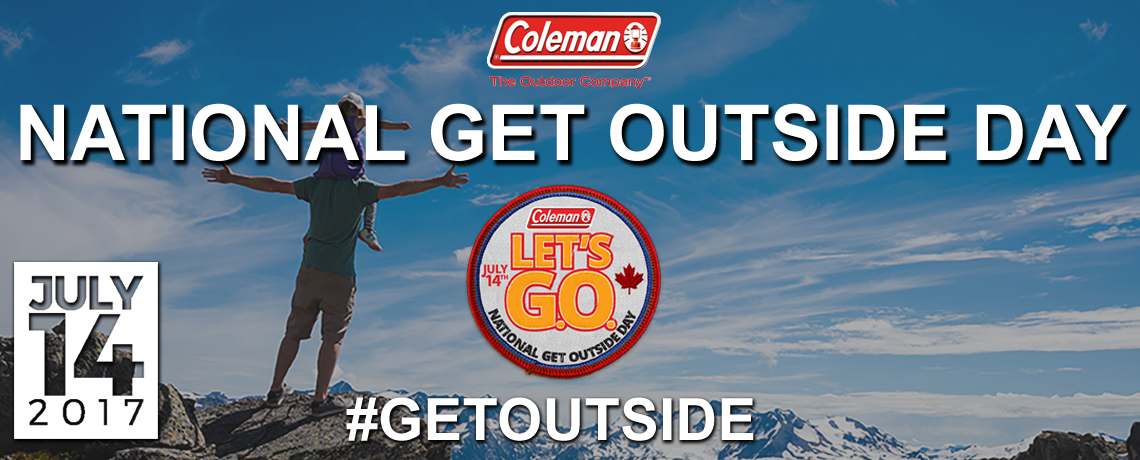 National Get Outside Day